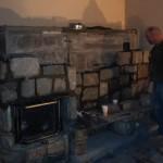 Installing the Granite Blocks