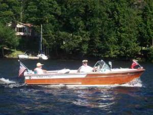 Boating on Cranberry Lake