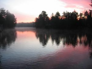 Wanakena Sunset